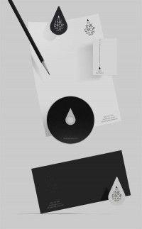 The Ink Drop - Brand Identity by Timur Salikhov