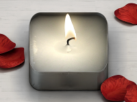 Tea Light iPhone Icon by Konstantin Datz