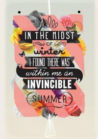 The Invincible Summer Art Print by Kavan & Co | Society6