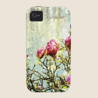 Rusted Magnolia Case-Mate iPhone 4 Cases from Zazzle.com