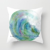 COURAGE 2013 Throw Pillow by Catherine Holcombe | Society6