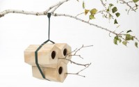 Modular Modern Birdhouses: NeighBirds by Andreu Carulla - Design Milk