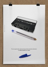 audio cassete and pen poster_vamadesign_EN » Design You Trust – Design Blog and Community