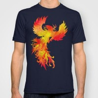 The Phoenix T-shirt by Belle13 | Society6