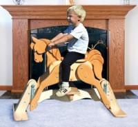 Rockers - Glider Rocking Horse Plans