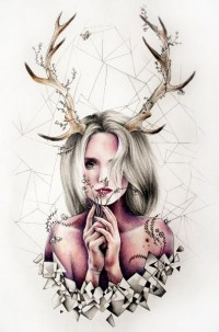 """Like art could save a wretch like me."" – Breath taking drawings by Kate Powell 