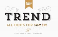 Trend - A Font by Latinotype