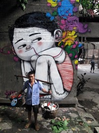 Streetartist Seth: Murals around the World with local city Dwellers (15 Pictures) > Design und so, Paintings, Streetstyle, urban art > art, china, city dwellers, france, mexico, project, public, streetart, vietnam