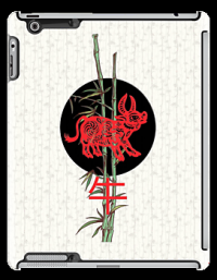 """Ox (chinese zodiac)"" iPad Cases by BelleFlores 