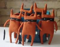 Bandit fox by adatine on Etsy