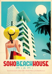 Soho Beach House Miami by Jonas Bergstrand