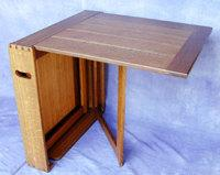 Gate Leg Table by UliAndSonFurniture on Etsy