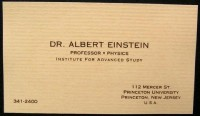 Famous Business Cards | thaeger - blog this way