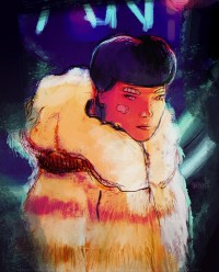 microbians : Illustration - Blade Runner Girl