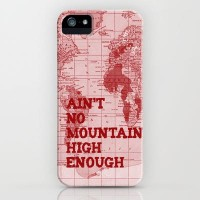 Ain't No Mountain High Enough iPhone Case by Catherine Holcombe | Society6