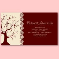 The Tree of Life Business Card from Zazzle.com
