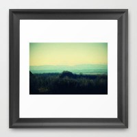 The Road I Leave On Framed Art Print by RDelean | Society6