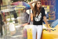 Fashion — Cara Delevingne by Patrick Demarchelier for DKNY Spring Campaign