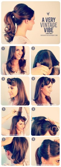 The Beauty Department: Your Daily Dose of Pretty. - 1950?s INSPIRED PONYTAIL