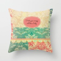 Hide Your Crazy Throw Pillow by RDelean | Society6