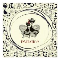 AristoCat Valentine - Party Invitation from Zazzle.com