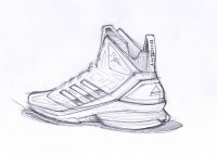 Sketch Work // adidas D Howard Light | Sole Collector
