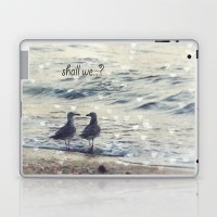Shall we...? Laptop & iPad Skin by Textures&Moods by Belle13 | Society6