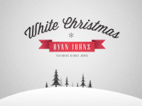 White Christmas by Joe Cavazos