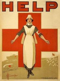 10 Vintage Nursing Recruitment Posters from WWI