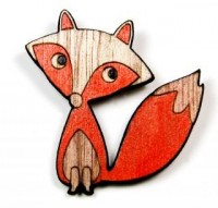 Kids - Accessories - Jewellery - Mr Fox Brooch