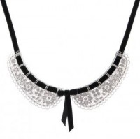 Women - Jewellery - Necklaces - SS Peter Pan Collar - black