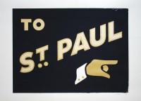 Design Envy · To Saint Paul poster: Nick Zdon