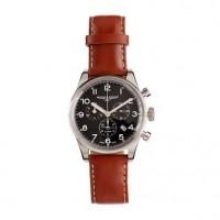 Mougin & Piquard™ chronograph watch in black - accessories - Men's the liquor store - J.Crew