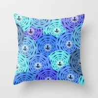 Octopus pattern Throw Pillow by Belle13 | Society6
