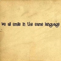 All Smile Same Language | Wall Decals - Trading Phrases
