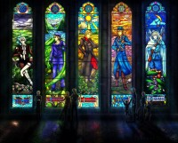 APH: Stained Glass by ~Jorael