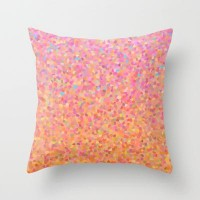 Cotton Candy Sky Throw Pillow by Catherine Holcombe | Society6