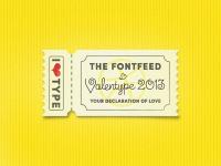 »Valentype 2013« Announcement ... by Arno Kathollnig