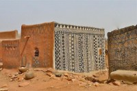 gurunsi earth houses of burkina faso