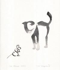 margaret-shepherd-cat-mouse-calligraphy.jpg (500×582)