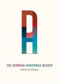 The Book Cover Archive: The Derrida-Habermas Reader, design by Natalie F. Smith