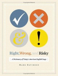 The Book Cover Archive: Right, Wrong, and Risky, design by Evan Gaffney