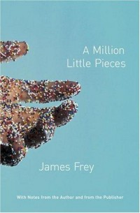 The Book Cover Archive: A Million Little Pieces, design by Rodrigo Corral