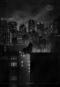 Kickass Noir Style Superhero PosterArt - News - GeekTyrant