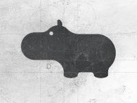 Hippo Logo Designer 's Logo Design emblem mark symbol by Gert van Duinen