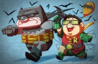 Mr. Dark Knight Returns by ~seniorgoldenspork