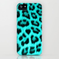 Wild Blue iPhone Case by Veronica Ventress | Society6