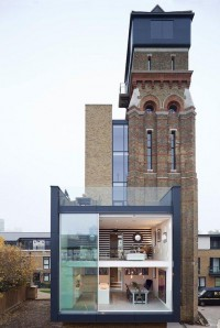 Water Tower Converted Into Superluxe London Home : TreeHugger