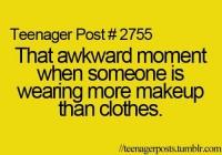 awkward teen age- Lol Image