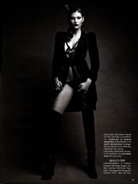 Patrick Demarchelier for Vogue Germany August 2009 - Touchpuppet